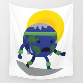 Sweating Earth Wall Tapestry