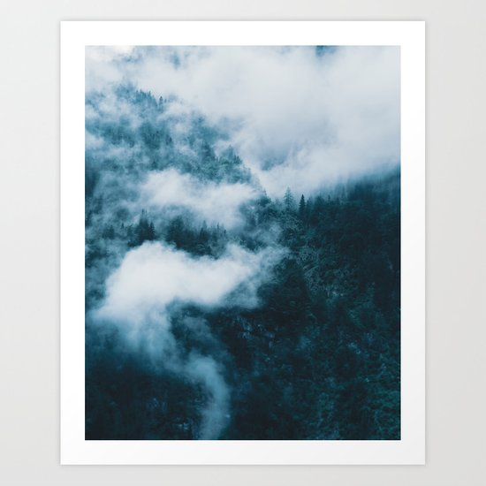 Embracing serenity - Landscape Photography Art Print