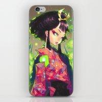 barachan iPhone & iPod Skins featuring kenkyo by barachan