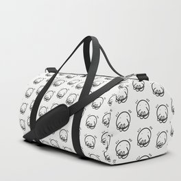 Smiles - Digital ink - iPad pro - On print. Duffle Bag