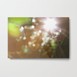 Finding the Light Abstract Photography Metal Print