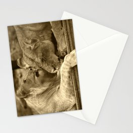 Mother and son II Stationery Cards