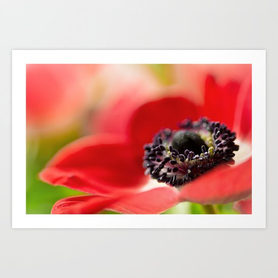 I fell in love with a beautiful girl.... Art Print