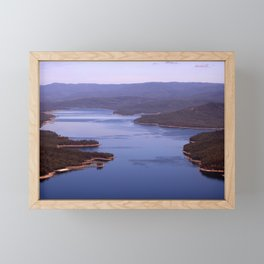 Burragorang Lookout Framed Mini Art Print