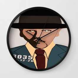 Bugsy Siegel Wall Clock