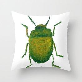 JUNG'S BEETLE Throw Pillow