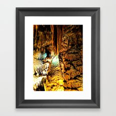 Cavern Beauty Framed Art Print