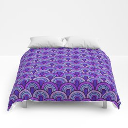 60's Patterns 2 Comforters