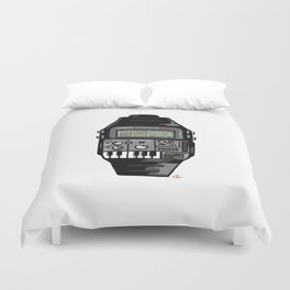 Synth Watch Duvet Cover