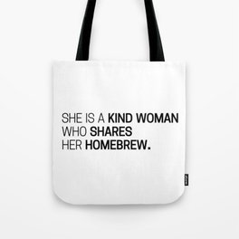 The Wise Homebrewer Tote Bag