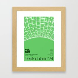 World Cup: West Germany 1974 Framed Art Print