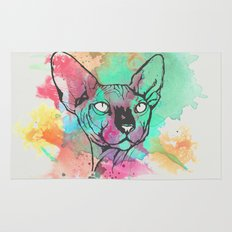 Watercolor Sphynx Rug