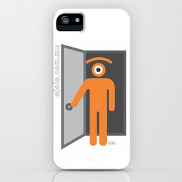en-trance iPhone Case