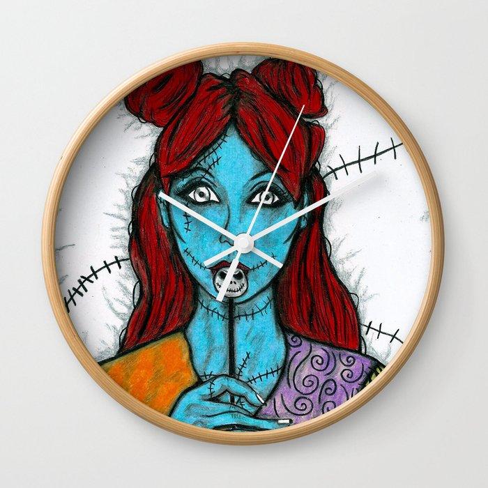 Sally The Nightmare Before Christmas Wall Clock
