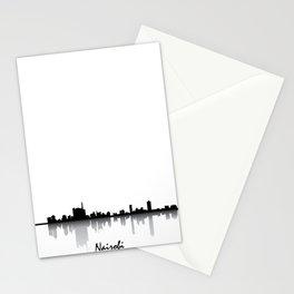 Nairobi Skyline Silhouette Stationery Cards
