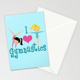 I Love Gymnastics Stationery Cards