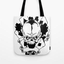 Wicked skull art, Custom gift design Tote Bag