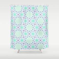 Arabic pattern Shower Curtain