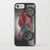 ducati iPhone & iPod Cases featuring Ducati 1199 Panigale R by Elias Silva Photography