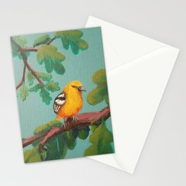 Summer: Baltimo Oriole (Female) Stationery Cards