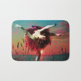 Flamingo Lagoon (Postcards from Shangri-La) Bath Mat