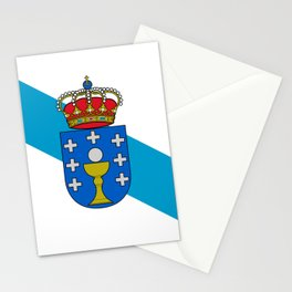 flag of Galicia Stationery Cards