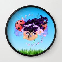 Courtney -  Wall Clock