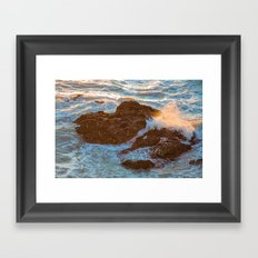 Pacifica Coast Framed Art Print