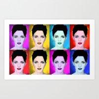 emma watson Art Prints featuring Emma Watson by Joe Hilditch