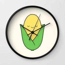 Corn Cob Cutie Wall Clock