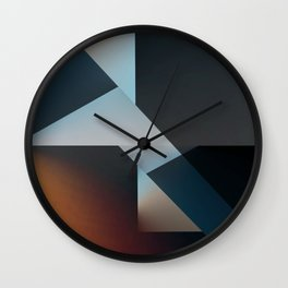 Disjointed Wall Clock