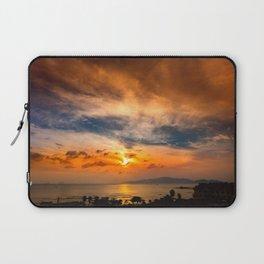 A Sunrise Glow Laptop Sleeve