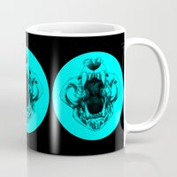 lions Mugs featuring Lions by Abby Weiman