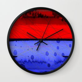 Blowing Hot & Cold Wall Clock