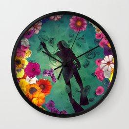 The Diver Wall Clock
