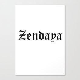 Zendaya Canvas Print