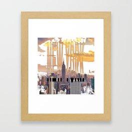 New York City Scape Framed Art Print