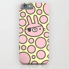 Pirate Bunny iPhone Case