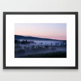 Hälsingland, Sweden Framed Art Print