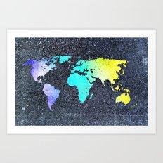 The World Belongs to you Art Print