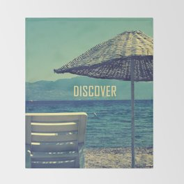 discover Throw Blanket