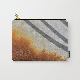 Rust Abstract I Carry-All Pouch