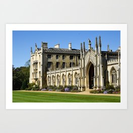 St. John's College, Cambridge Art Print