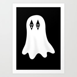 Stardust the Ghost Art Print