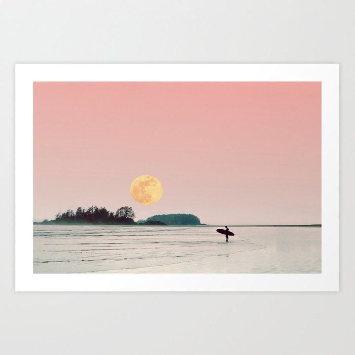 surfs up Kunstdrucke