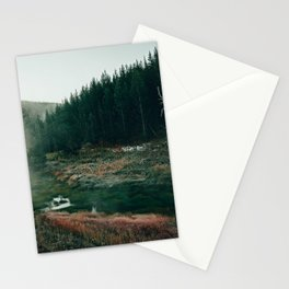 Frosty Morning Thermal Area Stationery Cards