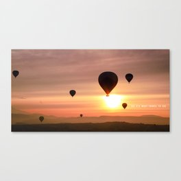 Life in Slow Motion Canvas Print