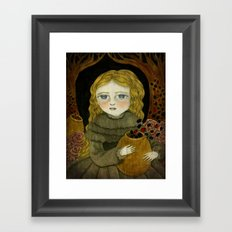 The Garden Tamer Framed Art Print