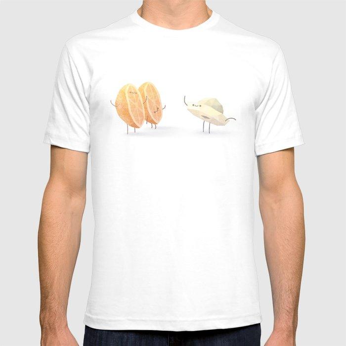 Breakfast friends T-shirt