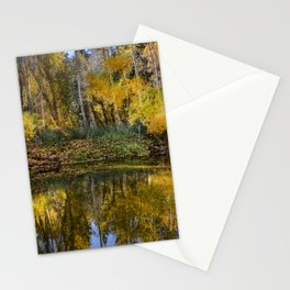 Yosemite Fall Colors / Merced River 11-2-18 Stationery Cards